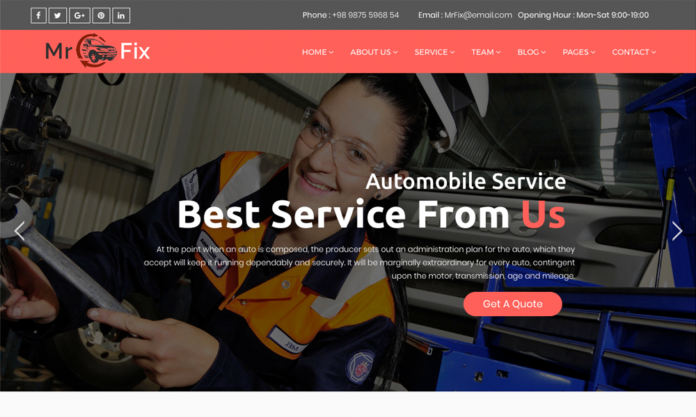 mr fix car repair service business joomla theme with page builder. Black Bedroom Furniture Sets. Home Design Ideas