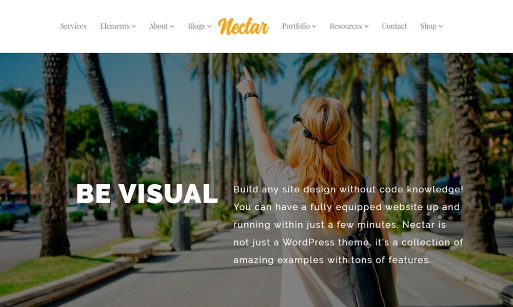 Nectar Responsive Multi-Purpose WordPress Theme