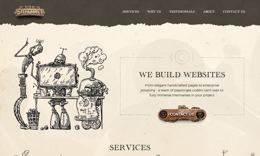 SiteCraft. We build awesome websites