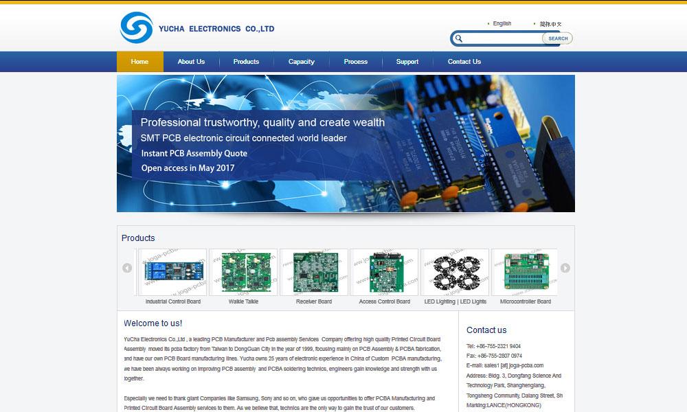 Yucha Electronics Ltd Co.