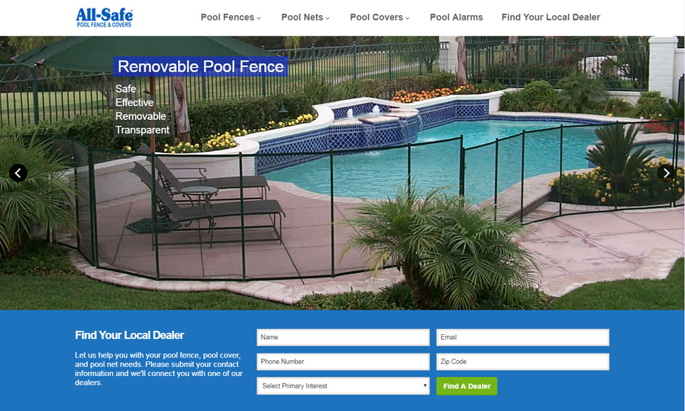All Safe Pool & Fence Covers
