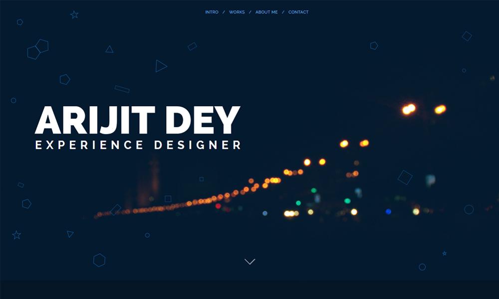 Arijit Dey | Experience Designer | Portfolio