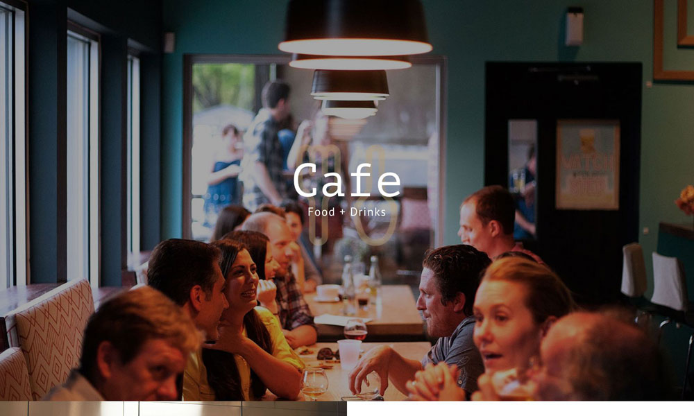 Cafe & Restaurant Total WordPress Theme Design