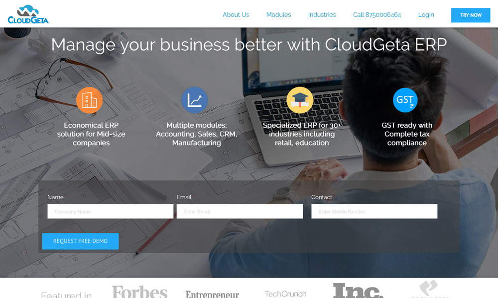 CloudGeta - ERP Solution