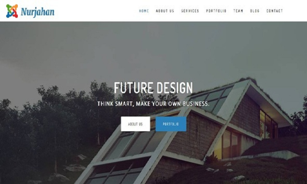Nurjahan - Creative Architecture & Interior Business Joomla Theme