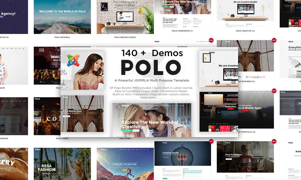 Polo - Responsive Multi-Purpose Joomla Theme With Page Builder