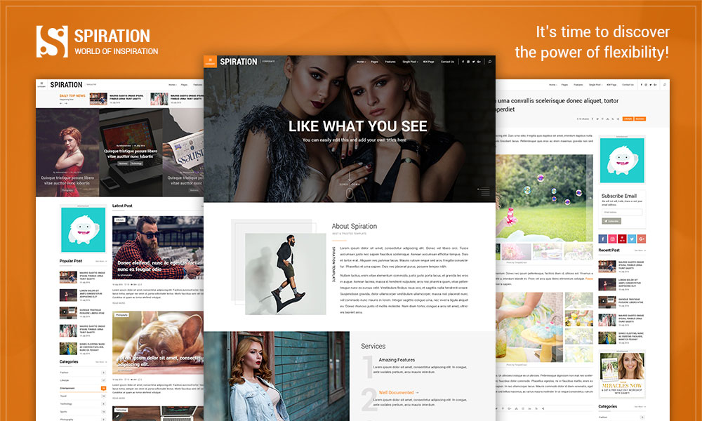 Spiration - Multipurpose WordPress Magazine Theme