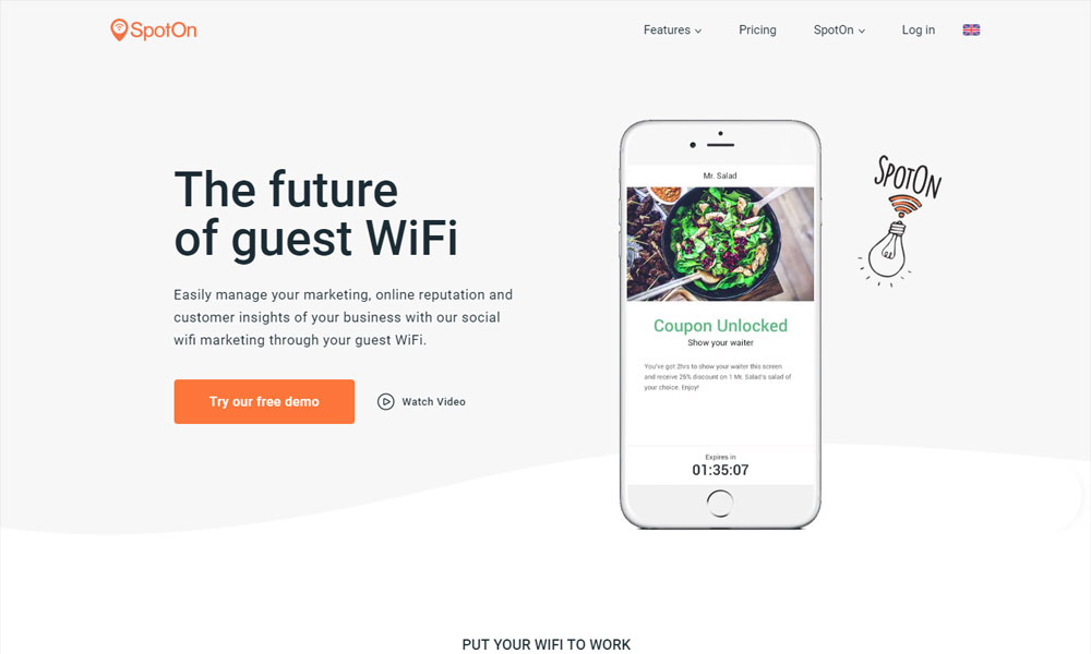SpotOn - The future of guest WiFi