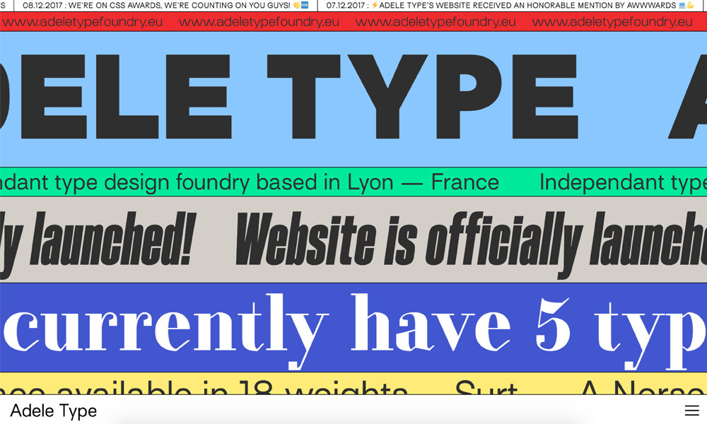 Adele Type