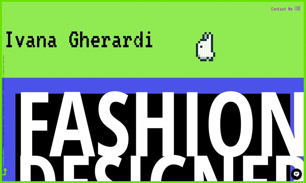 Fashion Designer Ivana Gherardi