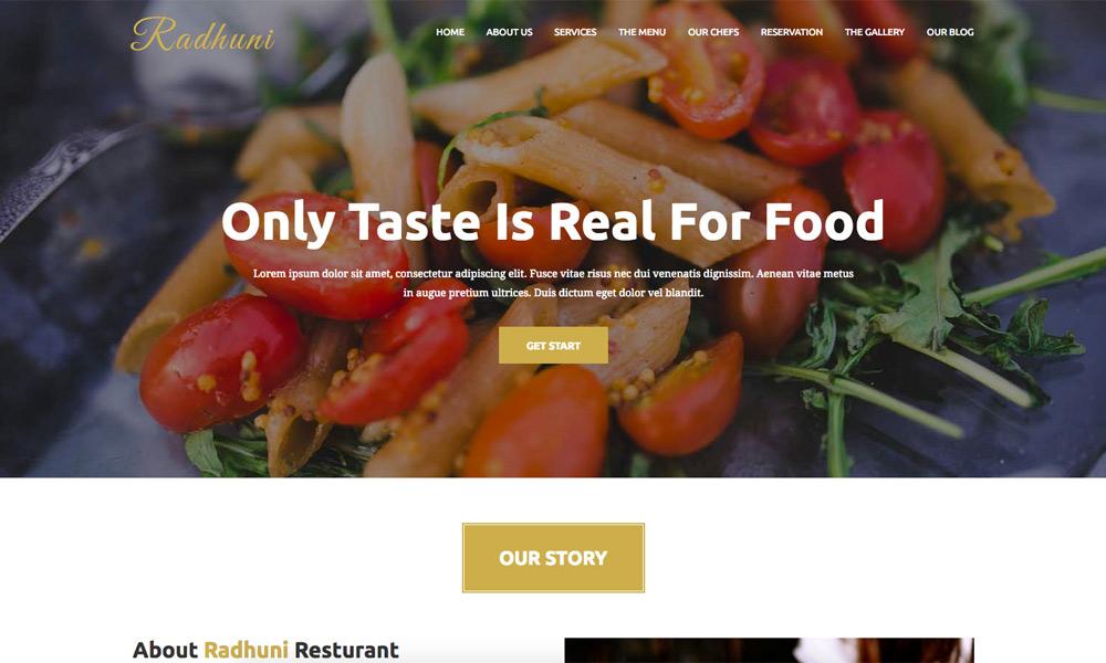 Radhuni - Multipurpose Business Joomla Theme With Page Builder