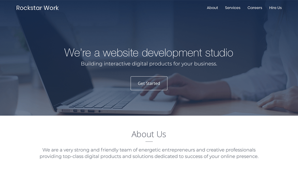 Web Development Studio