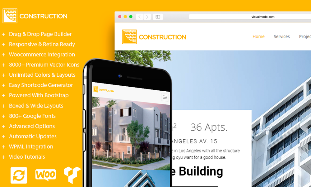 Construction - Building WordPress Theme
