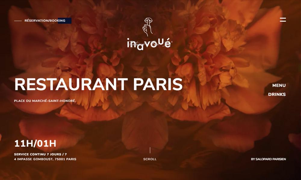 inavoué restaurant