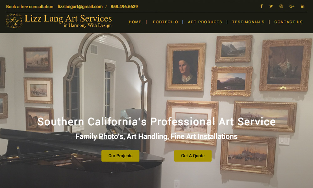 Lizz Lang Art Services