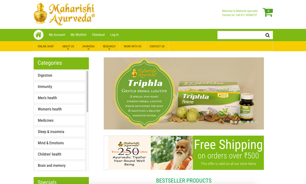 Maharishi Ayurveda Products Pvt Ltd