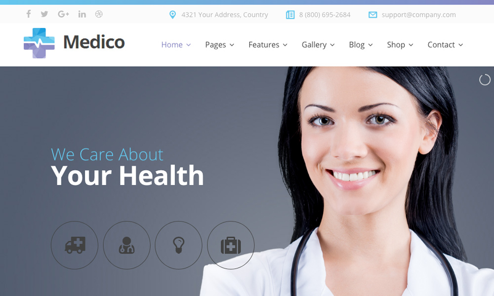 Medico - Medical&Veterinary Multipurpose Business Joomla Theme