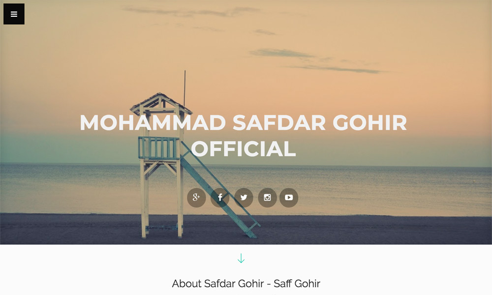 Mohammad Safdar Saff Gohir