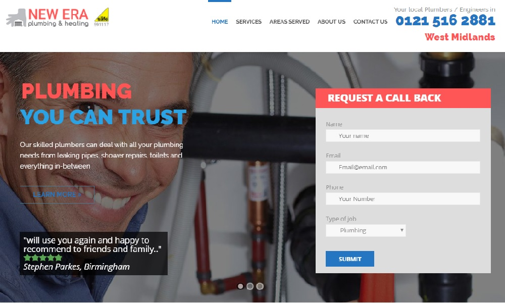 New Era Plumbing and Heating
