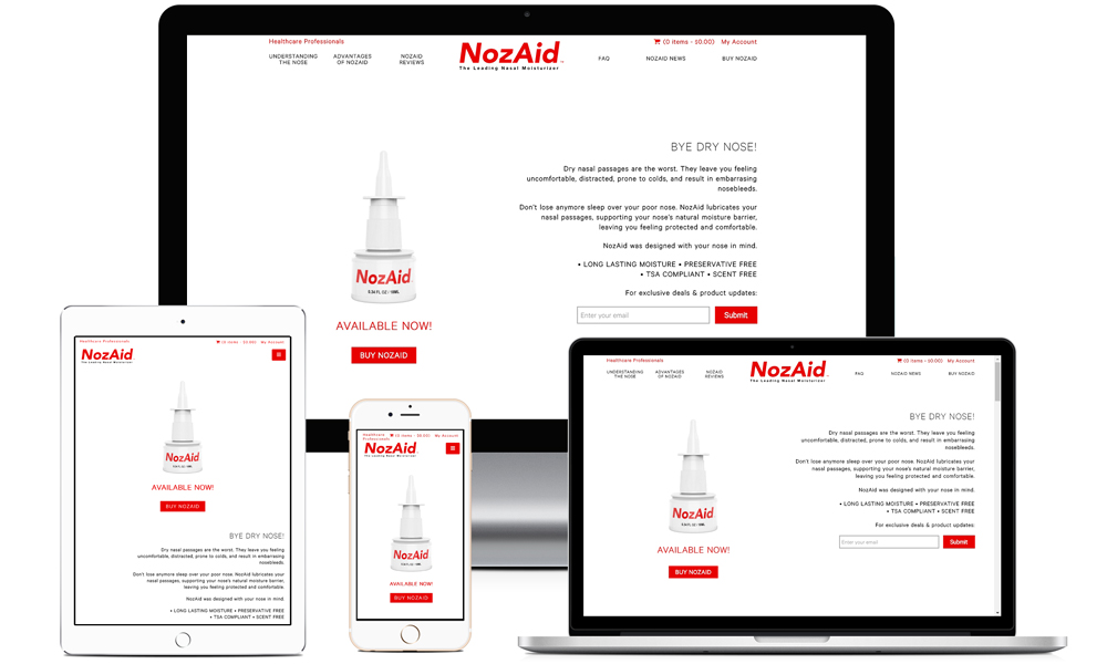 NozAid - The leading nasal moisturizer