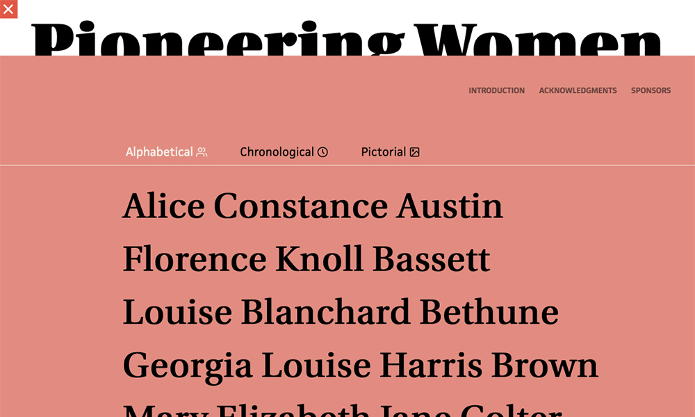 Pioneering Women of American Architecture
