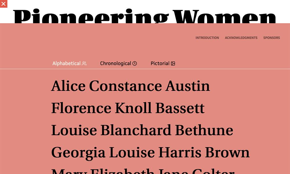 Pioneering Women of American Architecture