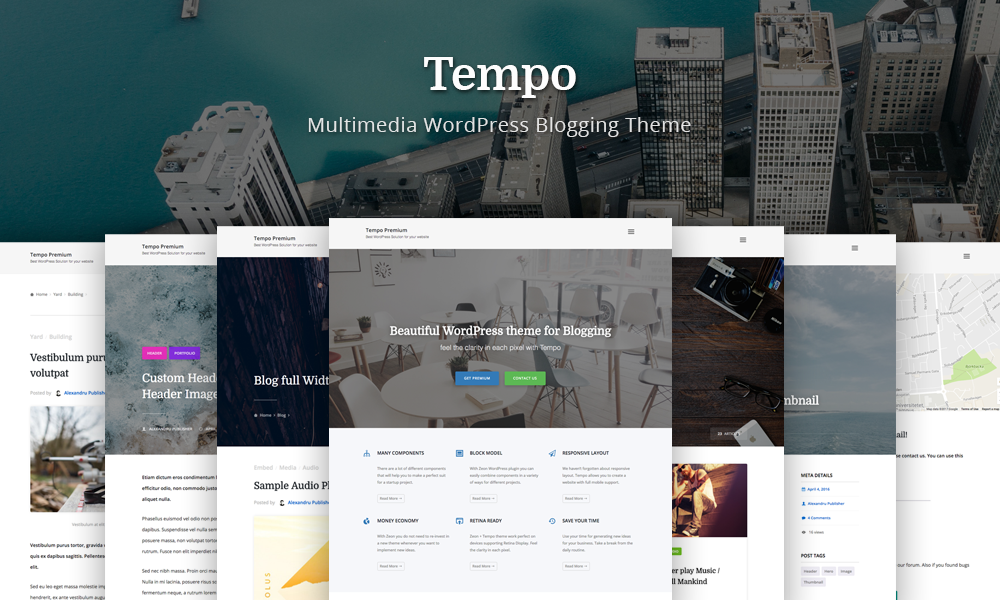 Tempo - Multimedia Blogging