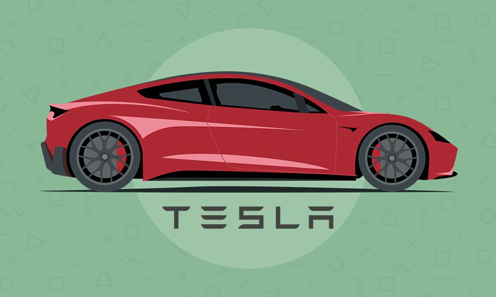 Tesla Interactive Infographic
