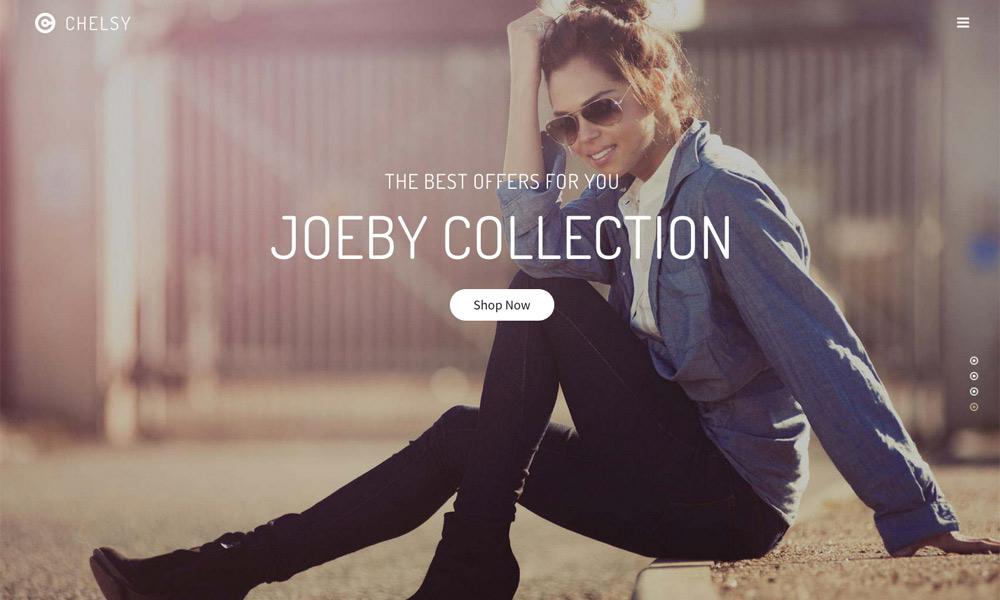 Chelsy | Creative Drag and Drop Multi-Purpose Joomla Theme