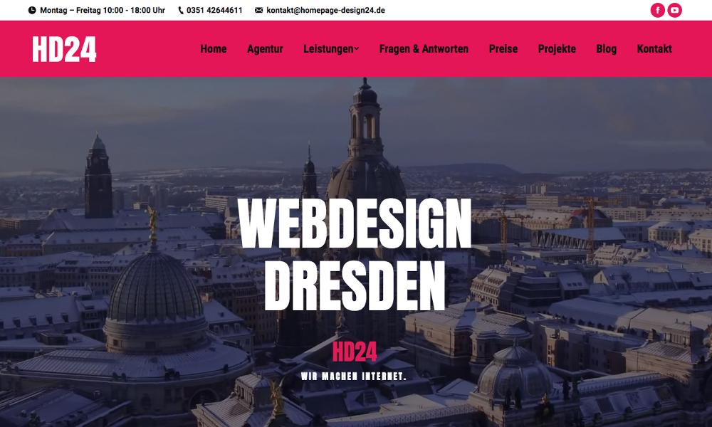 HD24 Webdesign Agentur Dresden
