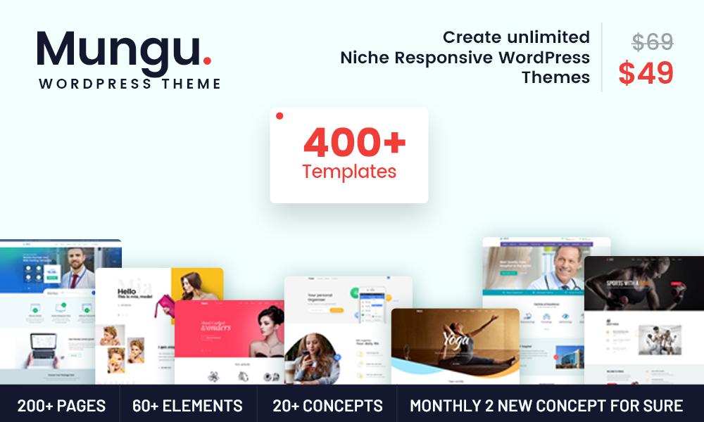 Mungu - MultiPurpose & MultiConcept WordPress Theme
