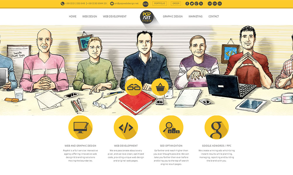 PopArt Studio | Web design services