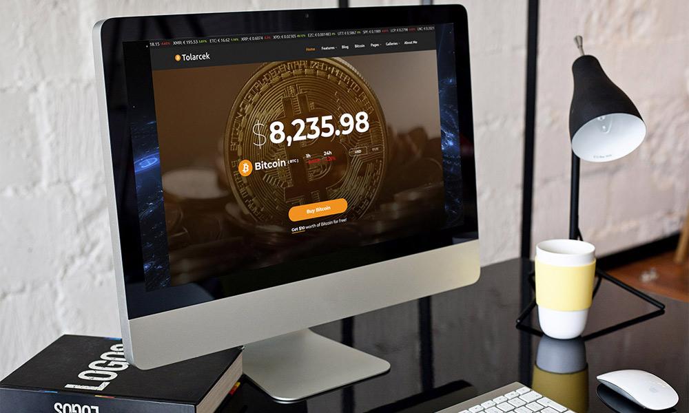 Tolarcek - A Bitcoin WordPress Blog Theme