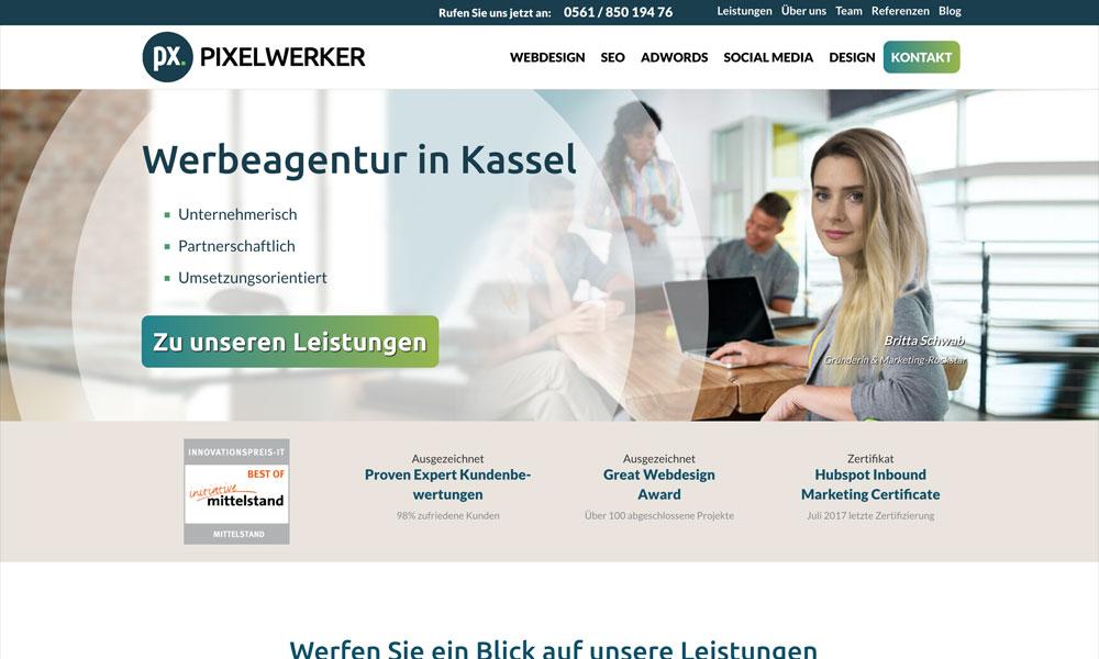 Werbeagentur Pixelwerker in Kassel