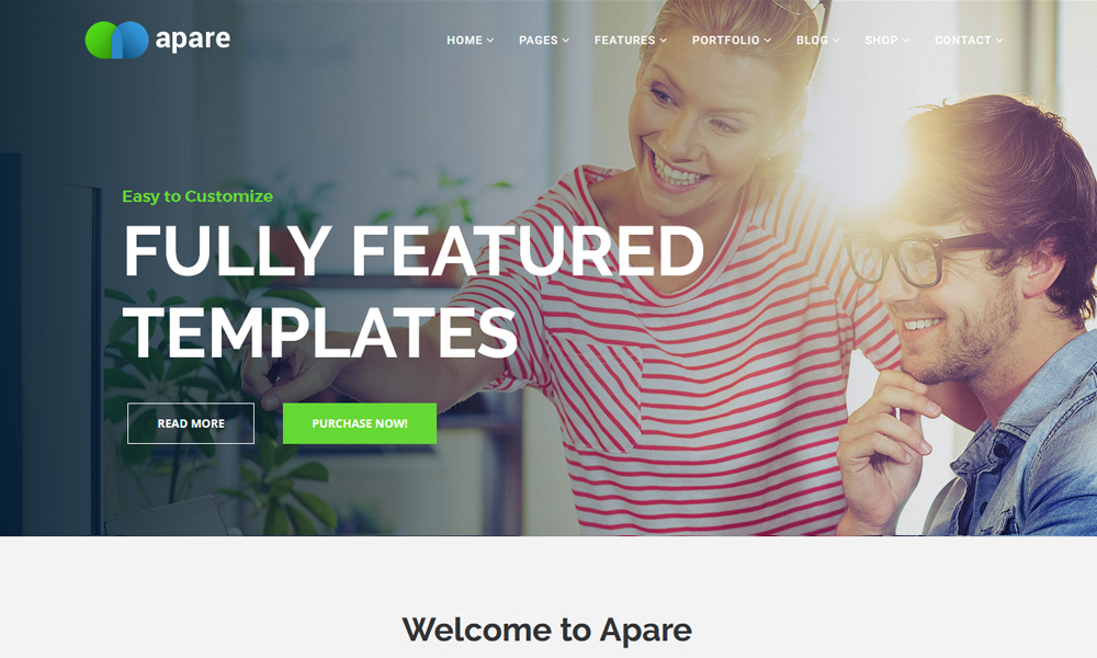 Apare - Responsive Multi-Purpose Drag and Drop Joomla Theme