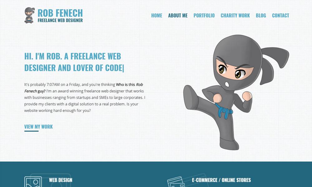 Freelance Web Designer - Rob Fenech