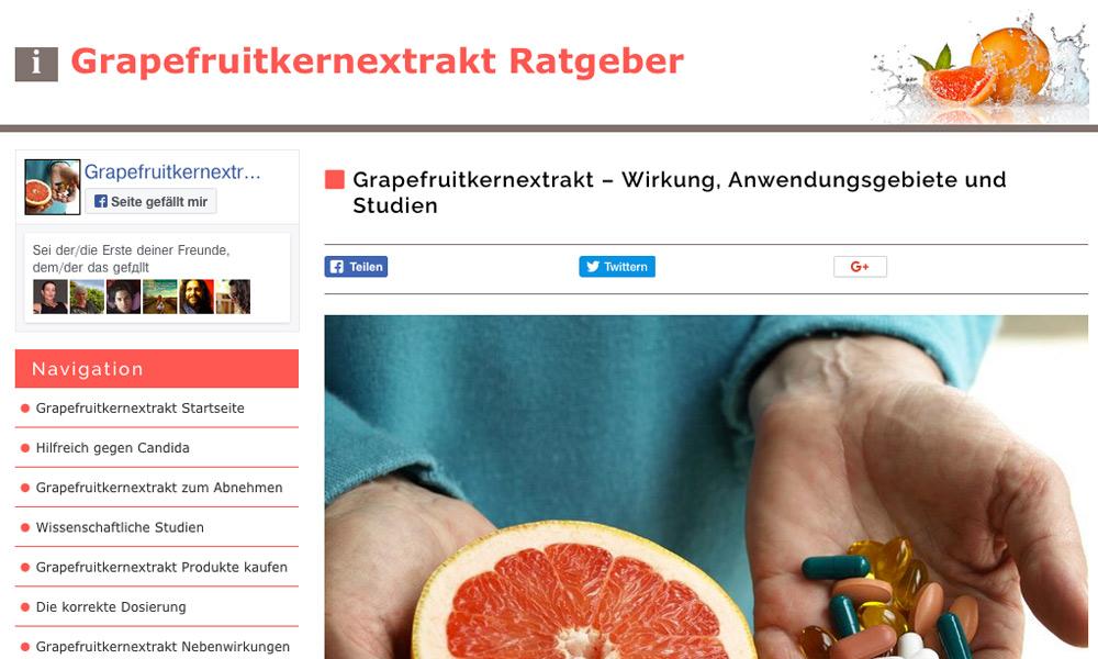 Grapefruitkernextrak