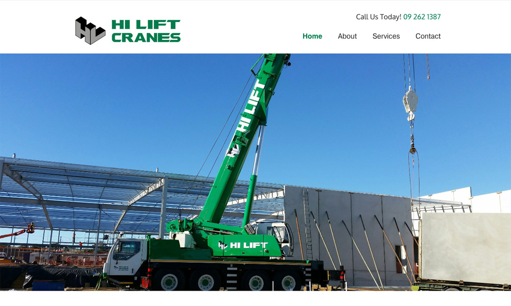 Hi Lift Cranes