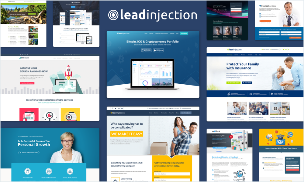 Leadinjection - Wordpress Landing Page Theme