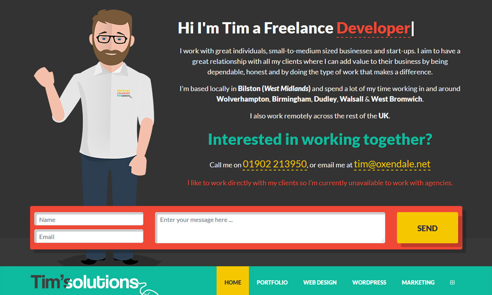 Web Design Tim Oxendale