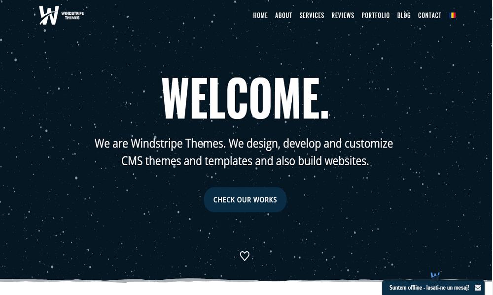 Windstripe Themes - Full Website Services (Joomla, Templates, Themes)