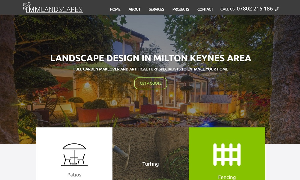 Landscape design in Milton Keynes - MM Landscapes