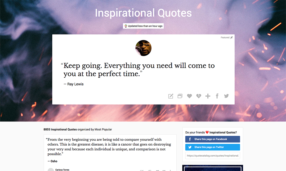QC Quotes to Inspire