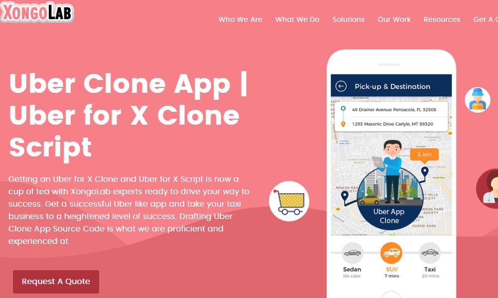 Uber Like App Clone