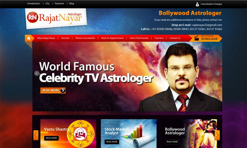 Astrologer Rajat Nayar