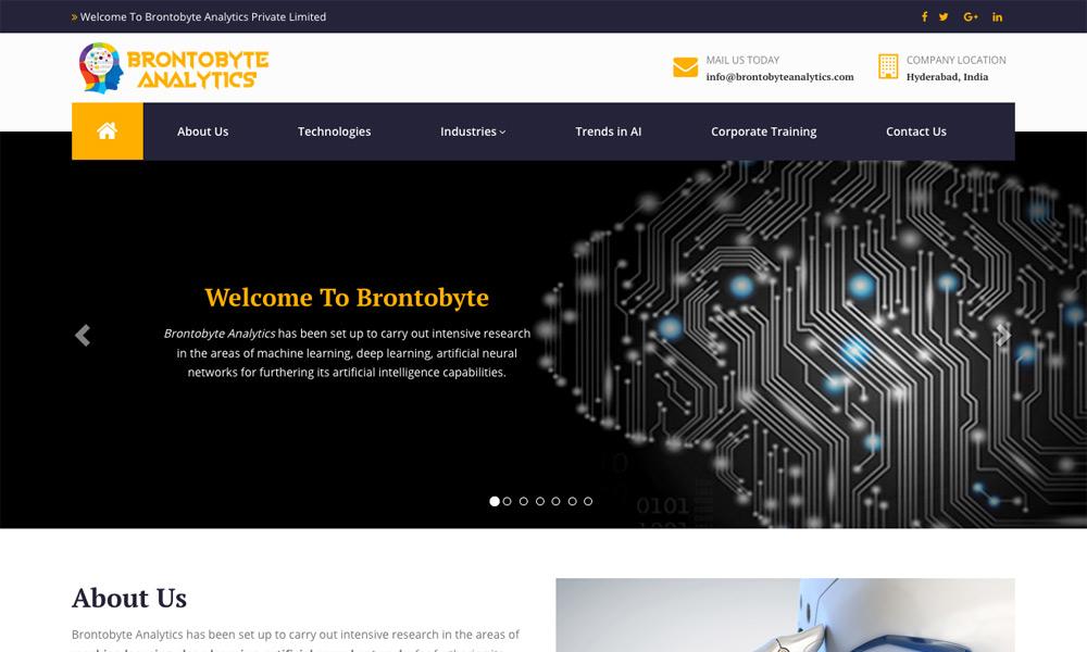 Brontobyte Analytics