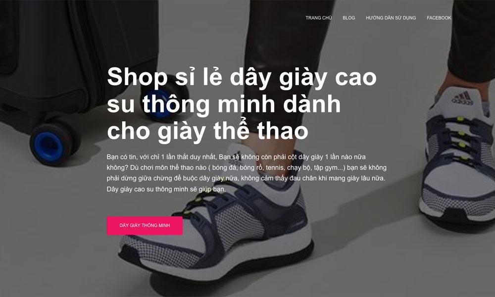 dây giày thông minh cao su đàn hồi