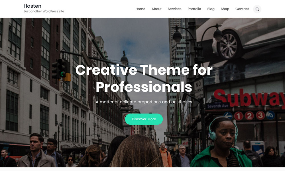 Hasten Lite WordPress Theme