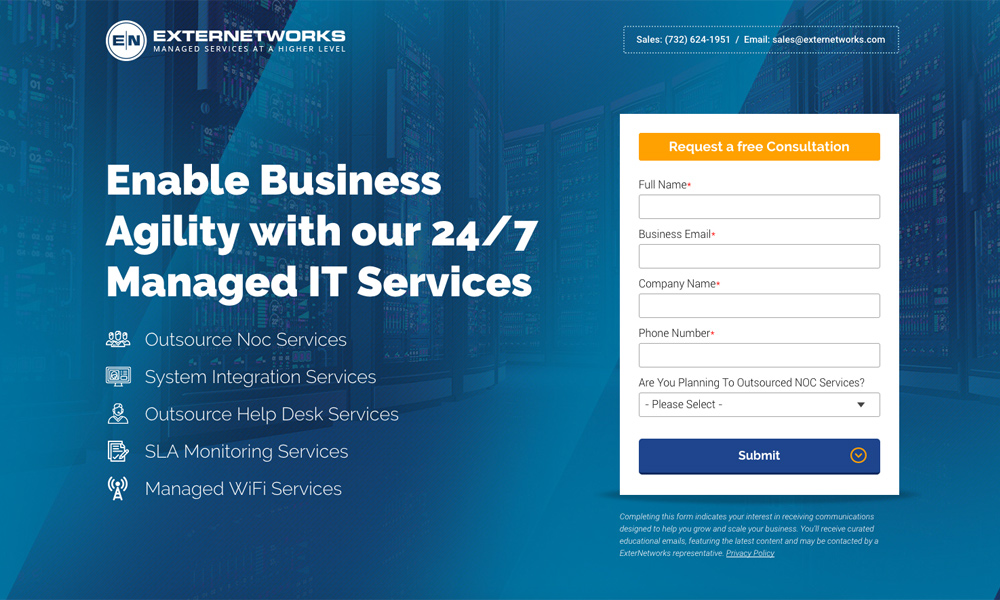 IT managed services company