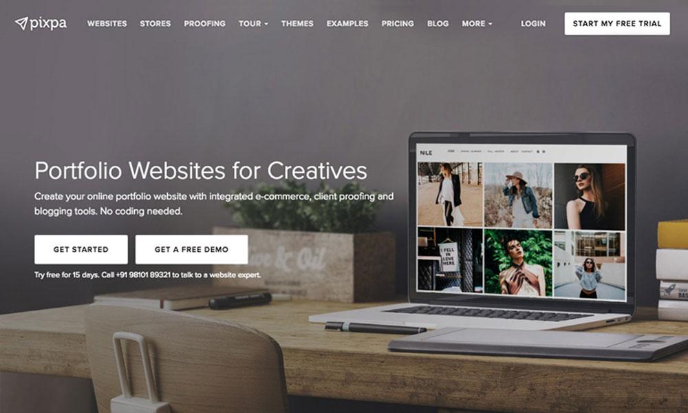 Pixpa Portfolio Websites